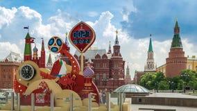 De tijdtijdspanne van Moskou Rusland stock videobeelden