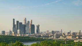 De tijdtijdspanne van Moskou Rusland stock footage