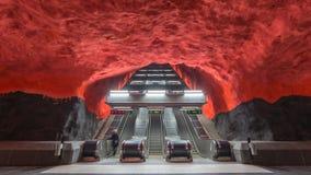 De tijdtijdspanne van Stockholm Zweden stock video