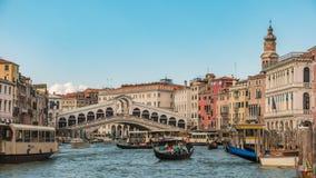 De Tijdtijdspanne van Venetië Italië stock video