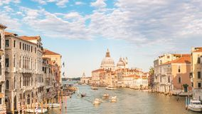 De Tijdtijdspanne van Venetië Italië stock footage