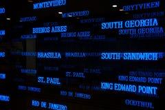 De tijdzone van aantallen Royalty-vrije Stock Foto's