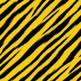 De tijger viel (seamles behang) Stock Foto's