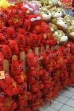 De tijgermodellen van de kleding voor tijgerjaar van 2010 Stock Foto