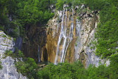 De Tik van Veliki (tik-Waterval) Stock Afbeelding