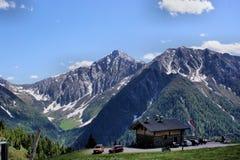 De Tiroolse bergen van het zuiden Stock Fotografie