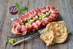 De Tiroolse snack van het zuiden stock fotografie