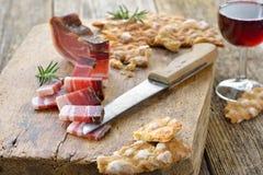 De Tiroolse snack van het zuiden royalty-vrije stock afbeelding