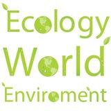De Titels van het milieu Royalty-vrije Stock Foto's