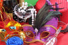 De toebehoren van Carnaval Stock Afbeelding