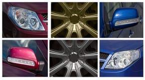 De toebehoren van de auto Stock Foto's