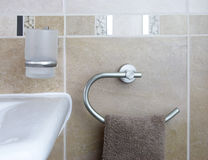 De toebehoren van de badkamers Royalty-vrije Stock Afbeeldingen