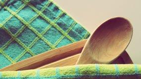 De Toebehoren van de kookboekkeuken Royalty-vrije Stock Foto's