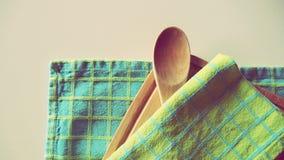 De Toebehoren van de kookboekkeuken Royalty-vrije Stock Afbeeldingen