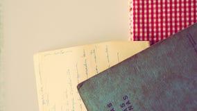 De Toebehoren van de kookboekkeuken Royalty-vrije Stock Fotografie