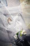 De Toebehoren van het huwelijk Stock Afbeeldingen