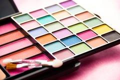 De Toebehoren van vrouwen - Kosmetische Achtergrond stock foto
