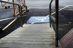 De Toegang van de handicap stock afbeelding