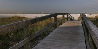 De Toegang van het strand Royalty-vrije Stock Fotografie