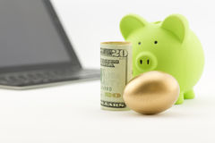 De toegewijde investering leidt tot succes Royalty-vrije Stock Afbeelding