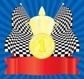 De toekenning. 1st positie. Royalty-vrije Stock Afbeeldingen