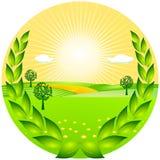De toekenning van de landbouw vector illustratie
