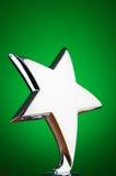 De toekenning van de ster tegen achtergrond Royalty-vrije Stock Afbeeldingen