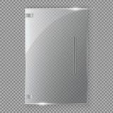 De toekenning van de glastrofee Vector illustratie Vector illustratie Royalty-vrije Stock Fotografie
