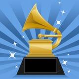 De Toekenning van Grammy Royalty-vrije Stock Fotografie