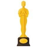 De toekenning van het de filmfestival van Oscar stock illustratie