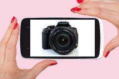 De toekomst van fotografie royalty-vrije stock afbeelding