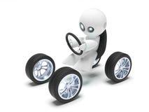 De toekomstige auto vector illustratie