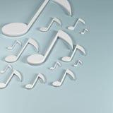 De toelage voor spel op muzikale instrumenten Royalty-vrije Stock Foto's