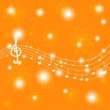 De toelage voor spel op muzikale instrumenten Royalty-vrije Stock Afbeeldingen