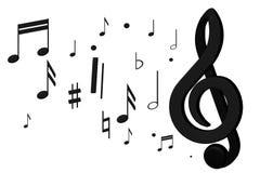 De toelage voor spel op muzikale instrumenten Royalty-vrije Stock Fotografie