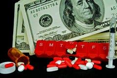 De toenemende Kosten van de Gezondheid Stock Foto