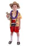 De toerist van de jongen stock foto