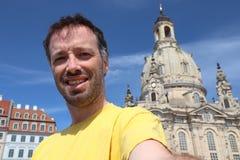 De toerist van Duitsland selfie royalty-vrije stock foto