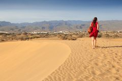 De toerist van Gran Canaria royalty-vrije stock afbeeldingen