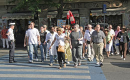 De Toerist van Rome, Italië Stock Foto's