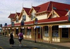 De toeristen in Paihia reizen Centrum Royalty-vrije Stock Afbeeldingen