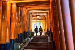 De Toeristenheiligdom van Japan Stock Afbeeldingen