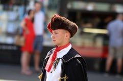 De Toeristische attractie van Zagreb/Halsdoekregiment royalty-vrije stock afbeeldingen
