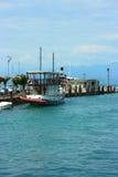 De toeristische boot van Peschiera Stock Fotografie