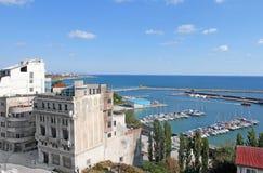 De toeristische haven van Constanta-stad Royalty-vrije Stock Foto