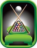 De toernooien van de pool Stock Afbeeldingen