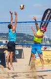 De toernooien van het strandvolleyball Royalty-vrije Stock Fotografie