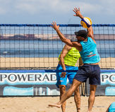 De toernooien van het strandvolleyball Royalty-vrije Stock Afbeelding