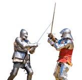 De toernooien van ridders royalty-vrije stock foto