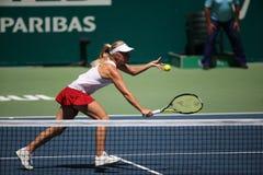 De Toernooien 2015 van TEB BNP Paribas WTA Stock Foto's